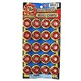 8 Shot Plastic Ring Capsules Super Bang Caps 2 Sheets of 320 Shots