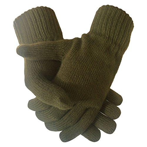 Herren Warm Winter gestrickte thermische Stretch Handschuhe (Spandex-stretch-handschuh)