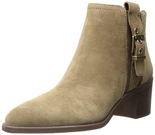 Ankle Moda Cáqui Senhoras Boots Sarto Suede Franco Apontou Eminentes qZXUqFw