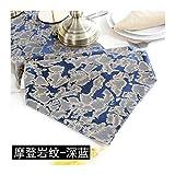 JUNYZZQ Tischläufer Postmoderne Minimalistische Nordische Geometrie Amerikanische Chinesische Couch Europäische Gold 30X180Cm