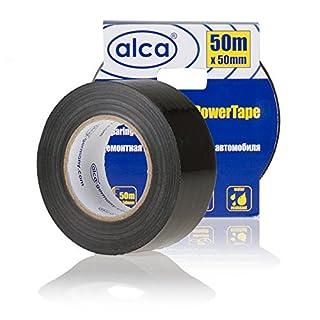 alca® 554310 Power Tape black50 Reparatur AutoPowerTape schwarz 50m