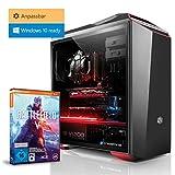 Kiebel Gaming PC Thunder R2 [185255] - Gamer PC nVidia GeForce RTX 2070 8GB GDDR6, wählbar: bis AMD Ryzen 2700X, bis 64GB DDR4, bis 2TB Samsung 970 SSD, Gamer Computer zusammenstellen, Konfigurator