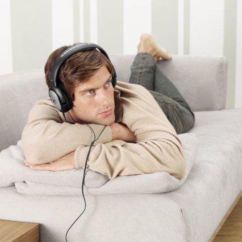 Sennheiser HD 201 Kopfhörer (Kraftvoller Stereosound) schwarz - 3
