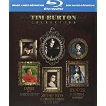 Coffret Tim Burton 3 Blu-ray