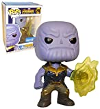 Funko POP! Marvel: EXCLUSIVE Avengers Infinity War Movie - Thanos Using Infinity Gauntlet Collectible Figure