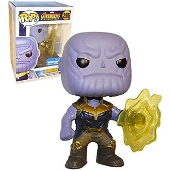 Funko POP! Marvel: EXCLUSIVE Avengers Infinity War Movie - Thanos Using Infinity Gauntlet Collectible Figure
