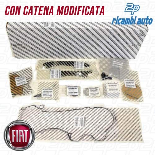 KIT CATENA DISTRIBUZIONE 15 PZ. FIAT 1.3 MULTIJET ORIGINALE FIAT 71776647