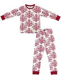 Ventra Boys Nightwear Heraldry Red