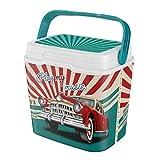 Life Story Cooler Box Frigo, Isolata, Portatile, Maniglia per Il Trasporto, Sistema di Blocco, Fatto in Francia, 6/29 L