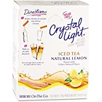 Crystal Light Ice Tea Mix, Non-carbonated, Sugar-free, 30/BX, Sold as 1 Box
