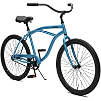 Critical Cycles Herren Chatham Men's Beach Cruiser Single Speed, Pacific Blue, One Size
