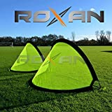 Roxan Vishwa 2 Portable Soccer Goals with Carry Bag with Durable Frame