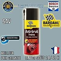 BARDHAL 4388 Anti-Bruit Frein Aérosol, 0,4 L
