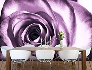 fototapete rose violett kt51 gr e 420x270cm schlafzimmer liebe romantik tapete. Black Bedroom Furniture Sets. Home Design Ideas