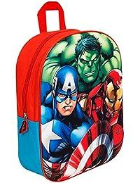 Marvel Vengadores PE Bolsa de cord/ón Mochila Hombro Bolsa para Zapatos de Vuelta a la Escuela