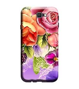 Gismo Samsung Galaxy J5 Prime Cover / Samsung Galaxy J5 Prime Back Cover / Samsung j5 prime Designer Printed Back Case - Art Flower Theme girl girly