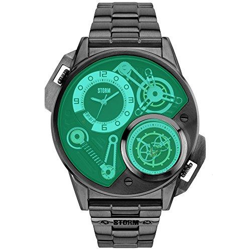 Storm Reloj los Hombres Dualtron Slate Green Special Edition 47229/SL/G