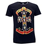 Photo de Guns 'N Roses T-Shirt avec Croix Appetite for Destruction Rock Musique - Officielle par Guns 'N Roses