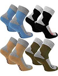 4 Paar Stopper Socken Homesocks mit ABS Sohle