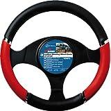 """Sumex 2505058 - Funda Volante PVC """"Speed"""", Color Rojo - Negro, 37 - 39 cm"""