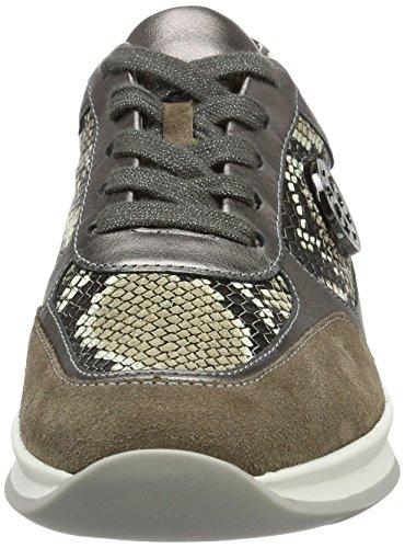 ara Damen Montreal Sneaker Grau (Muskat,street/taupe)
