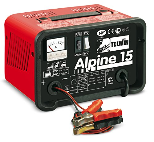 Soudage - Alpine 15 - Chargeur de batterie 12/24 V 230 V