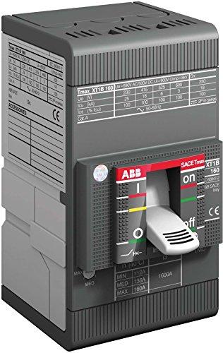 Abb-entrelec xt1 - Interruptor automático d160 3 polos f fija/o