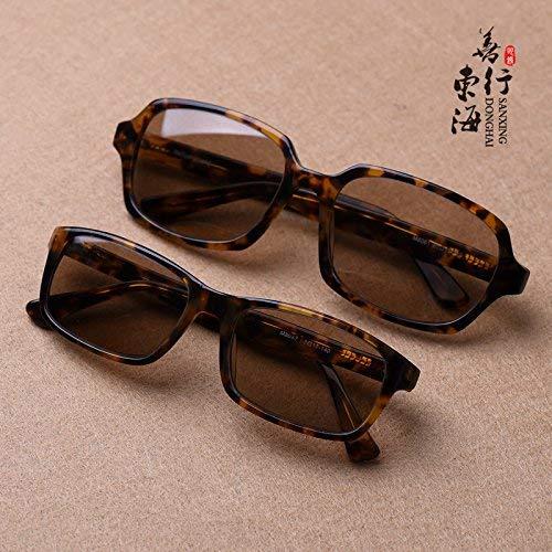 East China Sea natürlichen Kristallfelsen Brille gehobenen Sonnenspiegel Männer und Frauen die positiven Artikel Plank Material Sonnenbrille sind frisch und cool, um EIN Auge von Brille zu h