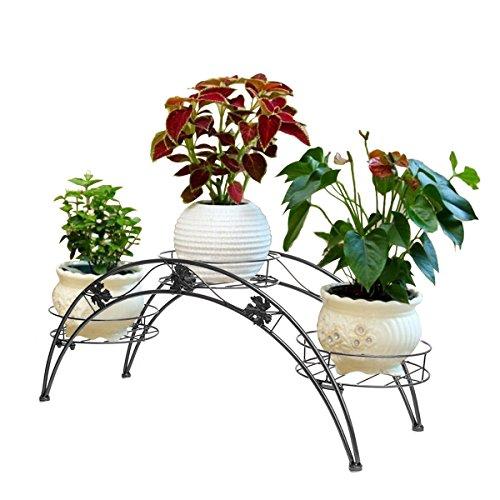 dazone Arch Metall Topfpflanzen stehen, mit 3Halterungen Topfpflanzen Rack Organizer -
