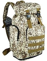 ysayc Mountaineering Bag bolso bandolera de gran capacidad de 70l bolsa bandolera de lona para hombres y mujeres viaje equipaje en plein air