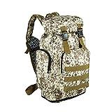 ysayc Mountaineering Bag Schultertasche mit hoher Kapazität von 70Liter Schultertasche aus Leinwand für Männer und Frauen Reise Reise im Freien