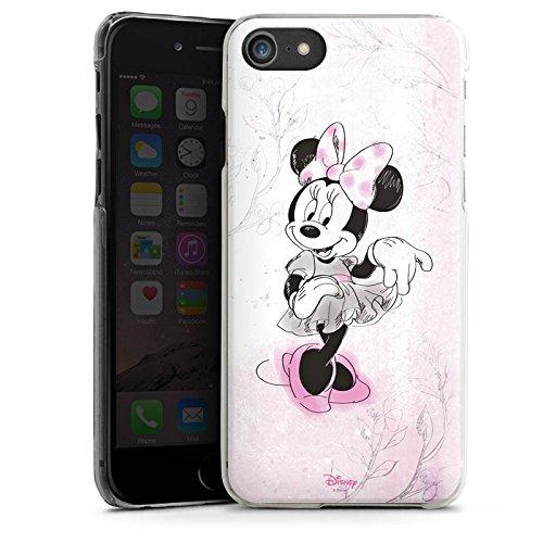 Apple iPhone SE Silikon Hülle Case Schutzhülle Disney Minnie Mouse Merchandise Geschenke Hard Case transparent