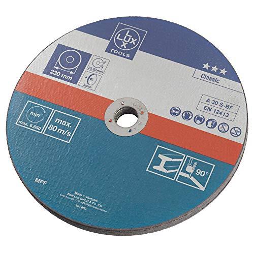 LUX Schleifscheiben-Set 125mm