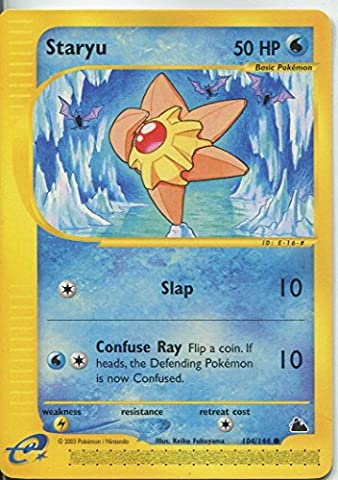 Pokemon Skyridge Common Card #104/144. Staryu