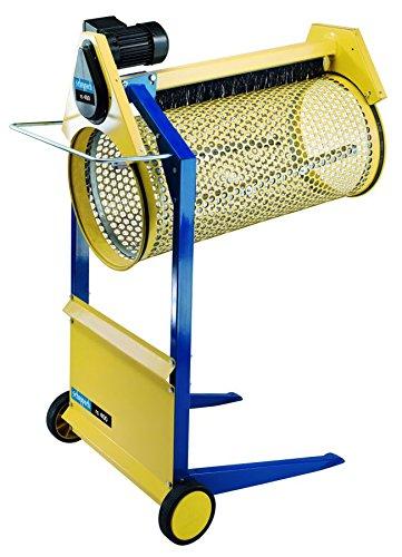 Scheppach Rollsieb RS400 (360 Watt, Siebtrommel-Länge: 900mm -Ø: 400mm, Drehzahl: 42 min-1, Materialdurchsatz: 3m³/h, neigbare Trommel) - Kompost-elektrisch