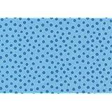 Westfalenstoffe * Junge Linie * Hellblau Tupfen * Kinderstoffe * Meterware