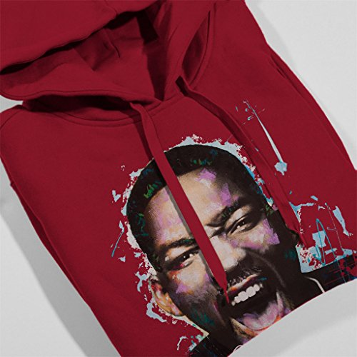 Sidney Maurer Will Smith Official Women's Hooded Sweatshirt Cherry Red