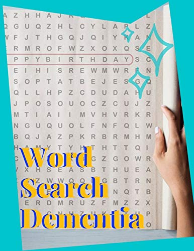 Word Search Dementia: Word Search Board Game, For word search perfected create your own word search TODAY.