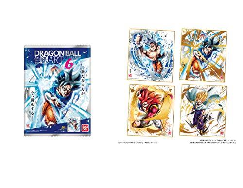 バンダイ (Bandai) Dragonball Super Art6Shikishi Schild gefärbtes Papier x Alle 16Komplett Japan