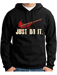 35mm - Sudadera Con Capucha Just Do It- Lucille Negan The Walking Dead, Unisex