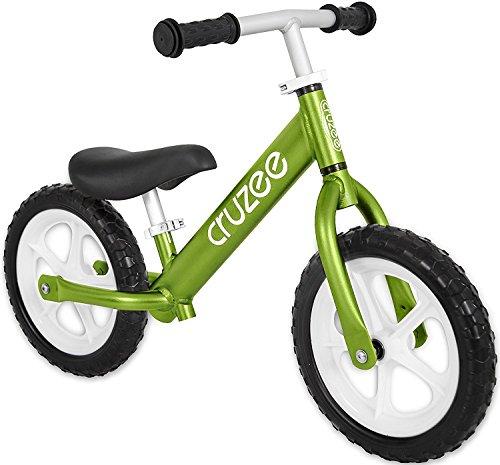 Preisvergleich Produktbild Cruzee GREEN - UltraLeicht Laufrad (1,9 kg) fur kinder ab 1.5 bis 5 Jahre