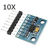 MYAMIA 10Pcs Gy-291 Adxl345 3-Axis Tilt Digital Gravity Accelerazione Sensore Modulo Per Arduino