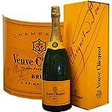 CHAMPAGNE VEUVE CLICQUOT - Brut Carte jaune - Magnum (1,5 L) ( France-Champagne-Champagne AOC-White-1,5L )