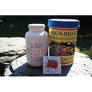 Happy Koi Set Aqua Bio 5 und Aqua 5 Dry Mini Dosen