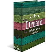 HERMA Dream Caja de cartón Verde, Multicolor - Carpeta de cartón (Almacenamiento, Caja de cartón, Verde, Multicolor, Verde, A4, 7 cm)