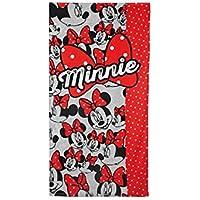 Minnie 2200000585 - Toalla de playa para niños, color turquesa