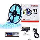 Tira LED 300LEDs RGB 5050 5M, IP65 Impermeable...