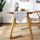Serired Tischläufer Kreatives Design Tabelle Flagge Kung Fu Tee duftende Matte Bett Flagge