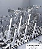 spiked-glasses Glashalter für Spülmaschine - Alleskönner 6er Set - Universelle Aufsteckhalter Halterung für Geschirrkorb Glas Gläser