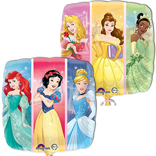 Amscan International 8.586.726,5cm Disney Princess Dream Big Standard Folie Ballon (Disney Princess Dress Up-box)